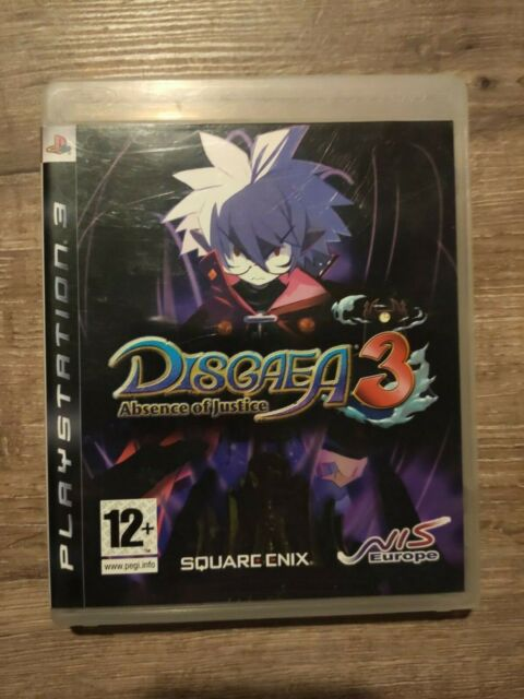disgaea 3 III absence of justice square enix playstation 3 sony ps3 game jeu PAL