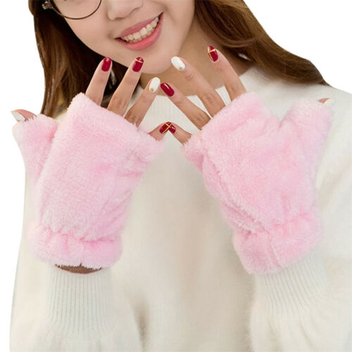 LK /_ EG /_ Damen Süßigkeiten Farbe Kaschmir Fingerlose Handschuhe Verdicken