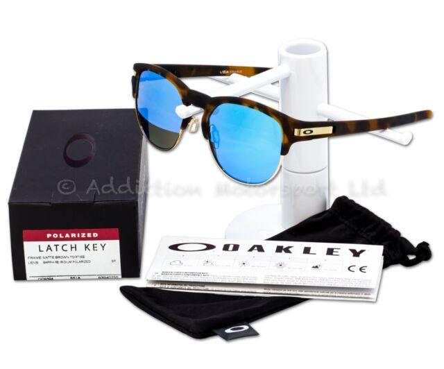 ac6e22176b Sunglasses Oakley Latch Key 9394-07 55 Matte Tortoise Sapphire ...