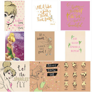Image Is Loading Disney Tinkerbell Birthday Cards Assorted
