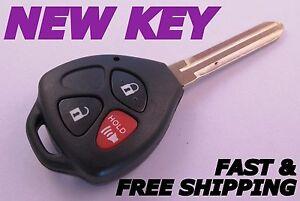 toyota 4runner rav4 key keyless entry remote fob transmitter