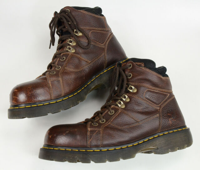 Dr. Martens IRONBRIDGE SAFETY STEEL TOE & MIDSOLE INDUSTRIAL BOOTS BRAND NEW