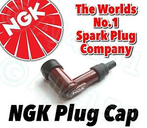 NEW-NGK-Spark-Plug-Cap-Boot-LB05F-R-Red-90-With-Resistor-No-8854-FREE-P-amp-P