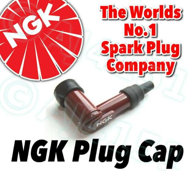 NEW NGK Spark Plug Cap / Boot LB05F-R (Red) 90° With Resistor No. 8854