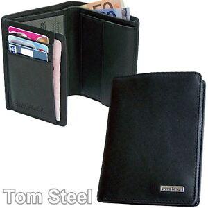 BRUNO-BANANI-Herren-Geldboerse-Leder-Portmonee-Geldbeutel-Hochformat-Brieftasche