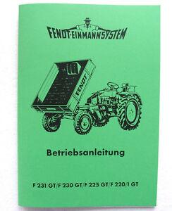 FENDT-Geraetetraeger-F-231-GT-230-GT-225-GT-220-GT-Betriebsanleitung-Schlepper
