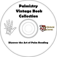 Palmistry Vintage Book Collection on CD - Learn How to Read Palms
