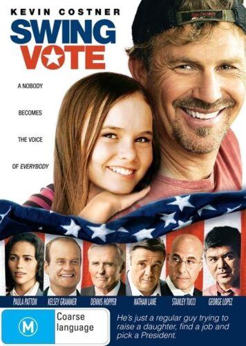 1 of 1 - Swing Vote (DVD, Region 4) Kevin Costner - Brand New, Sealed