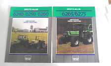 DEUTZ-ALLIS TRACTOR AND AIR COOLED DIESEL ENGINE BROCHURES