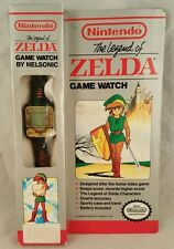 NINTENDO THE LEGEND OF ZELDA GAME WATCH BY NELSONIC 1989 BRAND NEW SUPER RARE