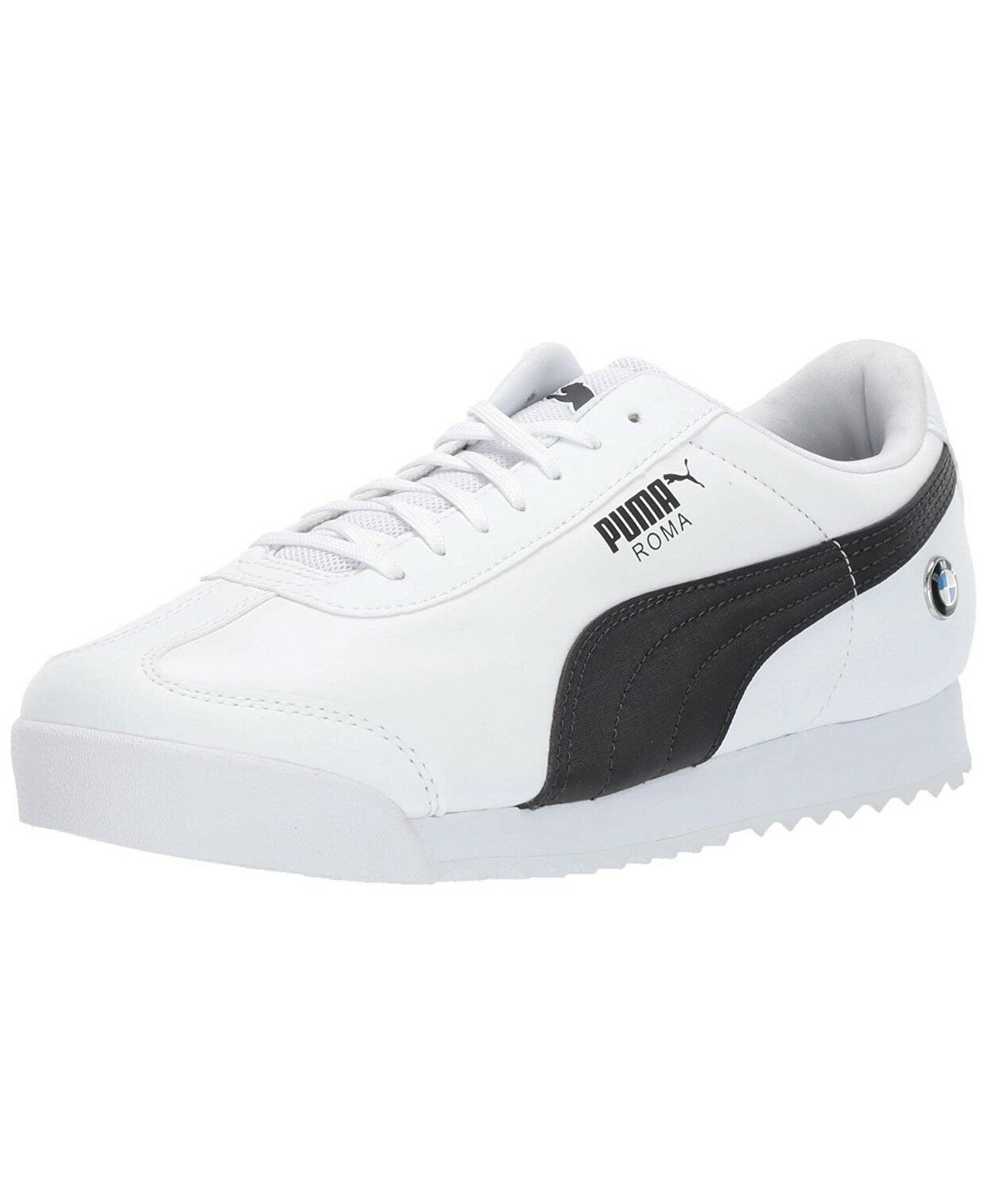PUMA BMW MMS ROMA PUMA WHITE-ANTHRACITE 306195-02 SNEAKERS MEN SHOES S-B