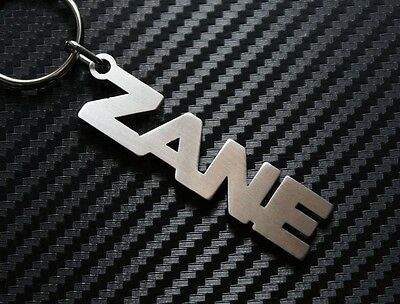 CODY Personalised Name Keyring Keychain Key Fob Bespoke Stainless Steel Gift