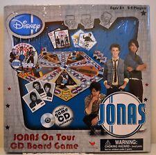 Jonas Brothers Nick Jonas on Tour CD Board Game Disney Brand New!