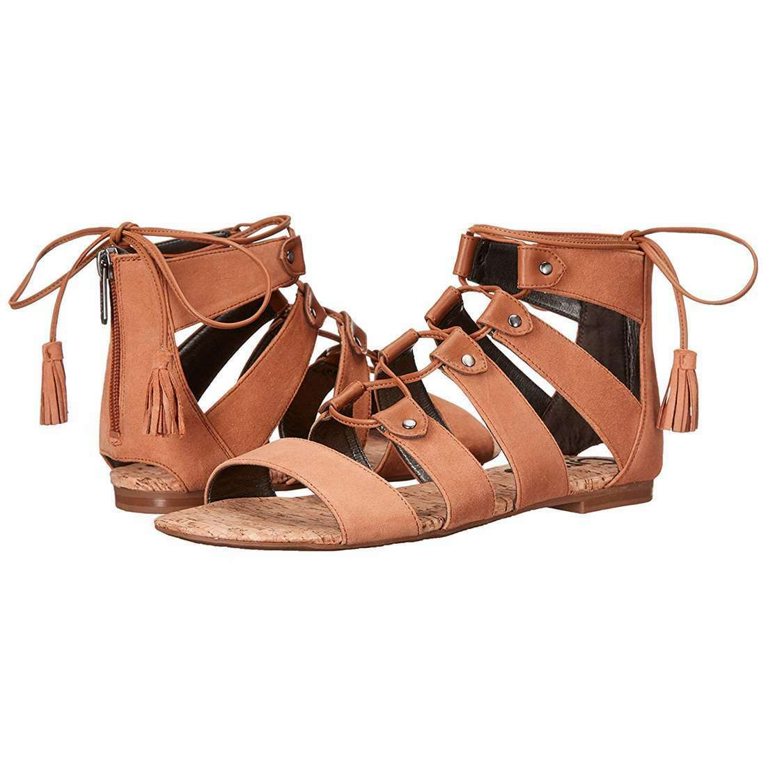 Circus by Sam Edalman donna NEW Gibson Gladiator Sandals Sandals Sandals Open Toe Summer Flats d7ae38