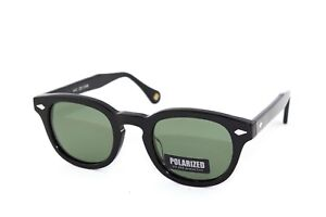7975b78fc44 Image is loading sunglasses-Sun-Lovers-black-lenses-green-polarized-style-