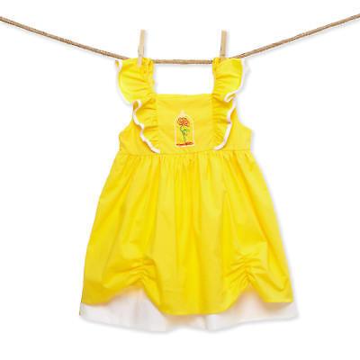 Ariel NEW Smocked mermaid princess Flutter Sleeve Dress boutique *