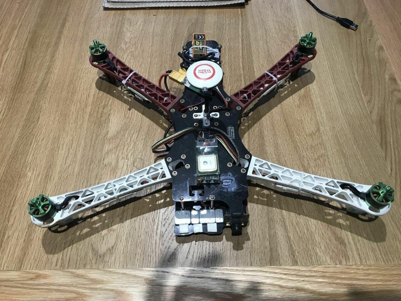 TBS Discovery RC Quadcopter DJI Naza GPS 30A ESC 920KV Motors ImmersionRC EzOSD