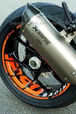 Wheel Rim Stickers KTM Superduke 990 R Smt Sm SMR SD Duke III 3 690 950 Tuning