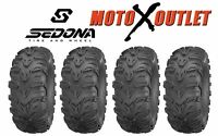 Kawasaki Brute Force 650 Tires Atv Sedona Mud Rebel Mudlite Set Of 4