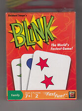 """BLINK """"THE WORLD'S FASTEST GAME!"""" Ages 7+, 2 PLAYERS 2009"""