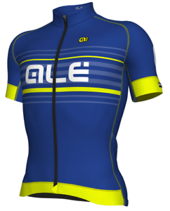 ALE' JERSEY M C GRAPHICS PRR ASCENT blue FLUORESCENT YELLOW