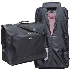 xxl housse sac de vetements porte costume robes d 39 affaires polyester noir ebay. Black Bedroom Furniture Sets. Home Design Ideas