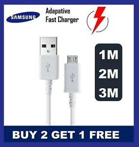 Samsung-Galaxy-S3-S4-S5-S6-S7edgePLUS-S8-S9-S10-Fast-Charger-USB-Cable-1M-2M-3M