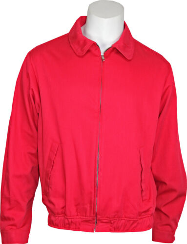 Men's Vintage Style Coats and Jackets    James Dean - LICENSED Red Rebel Without A Cause Replica Jacket. USA Made! SM-3X $64.95 AT vintagedancer.com