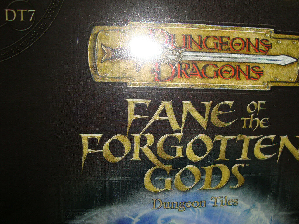 NEW   FANE OF THE FORGOTTEN GODS DT 7 DUNGEON TILES Dungeons and Dragons  3.5