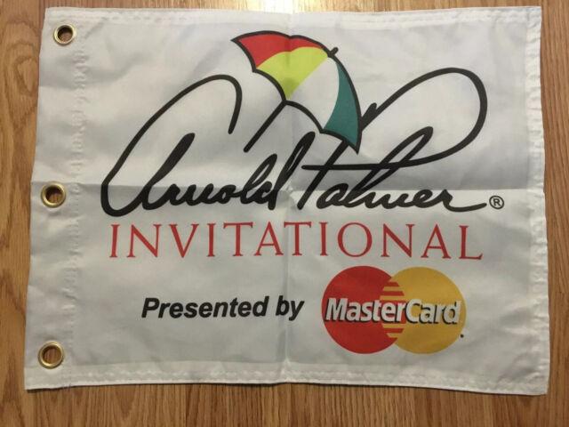 Arnold Palmer Invitational By MasterCard Screen Printed Pin Flag PGA Tour Tiger