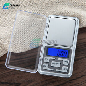 Mini 100/200/300/500g 0.01/0.1g Digital ScaleElectric Backlight Digits Weight