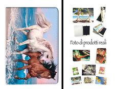 COVER PER TABLET CAVALLI CORSA MARE PER SAMSUNG GALAXY TAB 4 10.1 T530