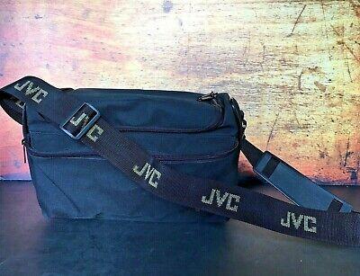 """Genuine Vintage 1980s JVC Wide Camera Neck Shoulder Strap 43/"""" Black /& Red"""