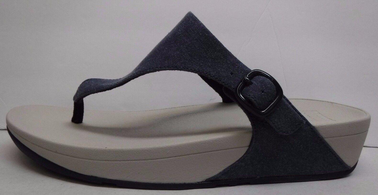 Fitflop Fit Flop Größe 11 M Blau Denim  Sandales NEU Damenschuhe Schuhes