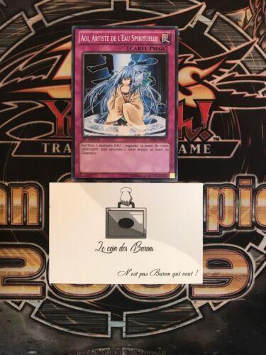 Yu-Gi-OH Aoi Artiste De L'Eau Spirituelle SDRE-FR037 1st