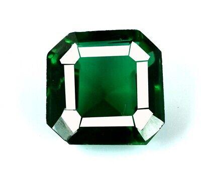 10-12 Carat Muzo Colombian Emerald Collection Natural Asscher Cut AGI Certified