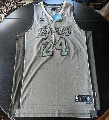 M70 New RARE ADIDAS L.A Lakers Kobe Bryant #24 Swingman Green Jersey MEN'S Large 829760677020 | eBay