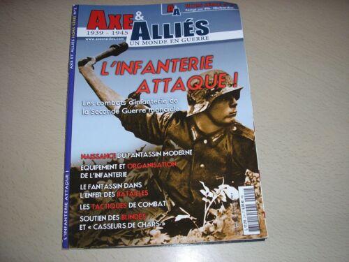 """REVUE /""""AXE ET ALLIE/"""",n°02,Le soldat allemand,Le Landser,l/'infanterie"""