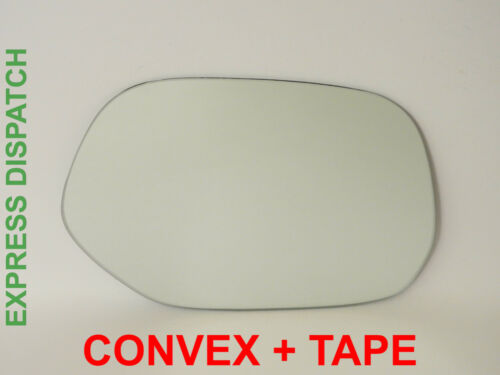 For TOYOTA FUN CARGO 1999-2003 Right Side Convex Wing Mirror Glass Tape //JT016