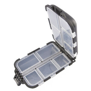 10-Compartments-Fishing-Tackle-Box-Tackle-Lures-Box-Hooks-Storage-Case-GP3