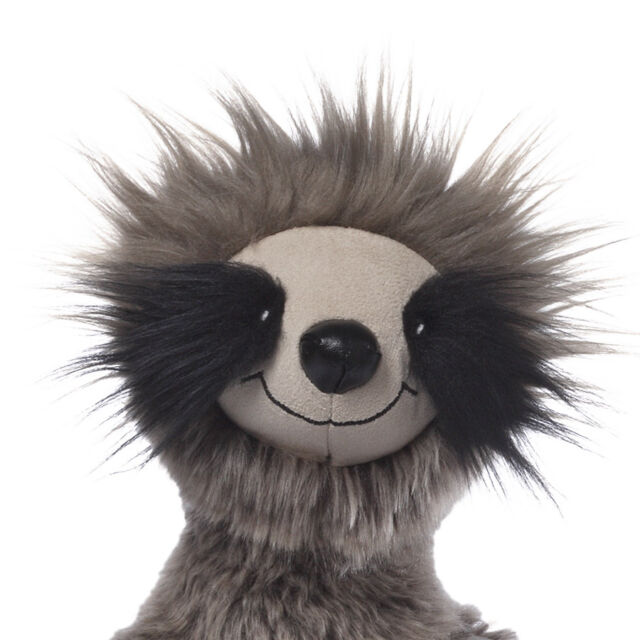 GUND -  HAPPY FACED SLOTH -  ROSWEL - TOBY AWARD - #4048385