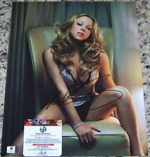 Mariah Carey Signed Autographed Auto 11x14 Photo Global GAI GA GV COA!