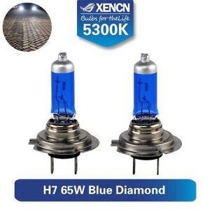 2x-HALOGEN-BULBS-XENCN-H7-65W-PX26d-12V-WHITE-gt-5000K-XENON-EFFECT-E4