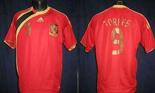 camiseta ESPANA SPANA SPAIN 2009-2010 TORRES  shirt jersey maillot maglia