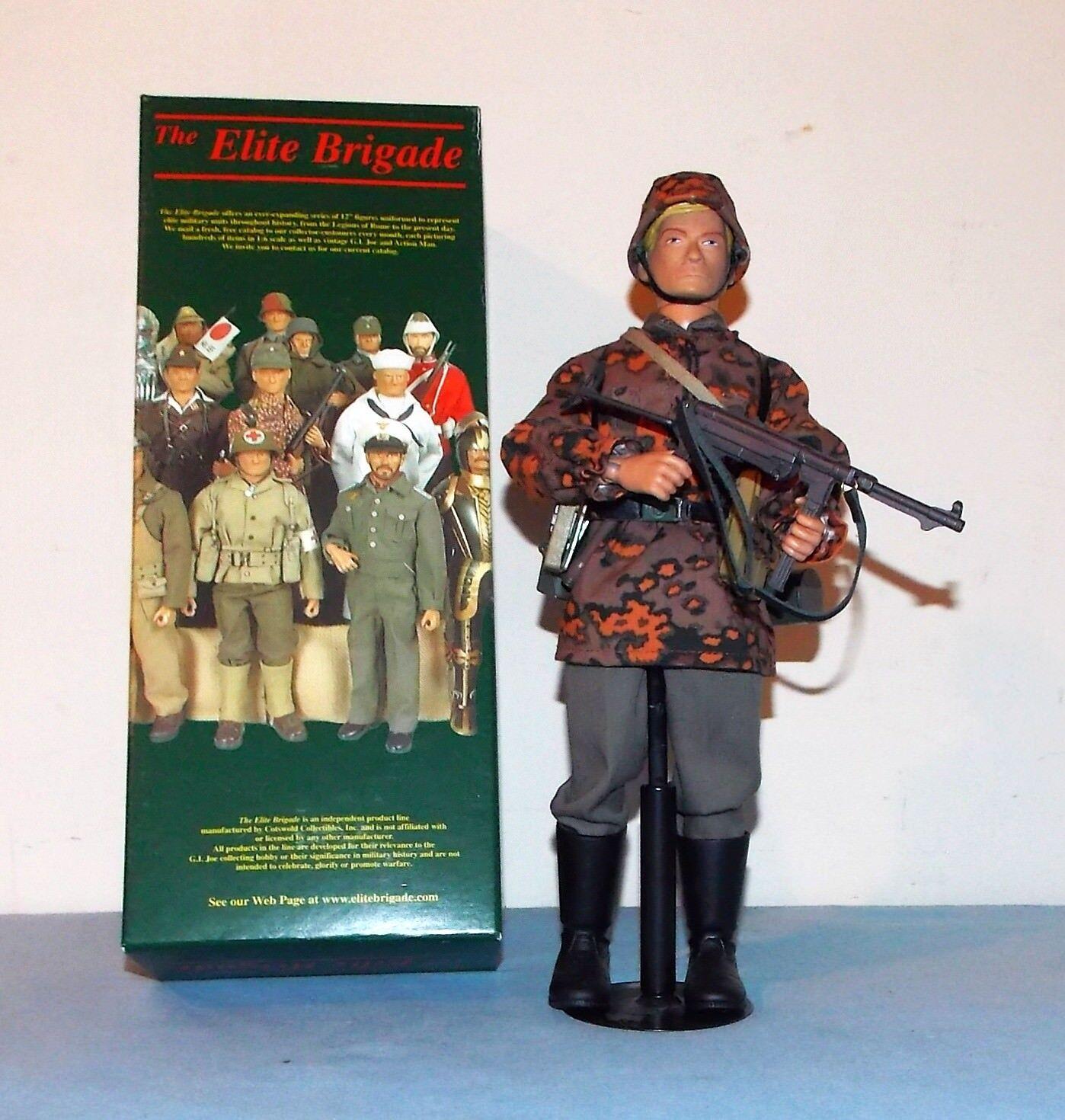 Cotswold Elite Brigade Geruomo WWII Waffen SS Soldier 12 LNIB