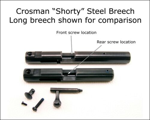 Crosman Shorty Steel Breech Kit for 2240 2250 2260 2300T 2300S 2400KT & Others