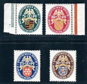 DR-1926-398-401-POSTFRISCH-TADELLOS-SATZ-WOHLFAHRT-230-C2758