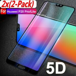 5D-Curved-Full-Cover-Tempred-Glass-Screen-Protector-for-Huawei-P20-Pro-Lite-lot