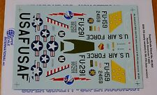 Microscale Decal 1:48 Scale #48-954 / No. American F-86D: 85th FIS (Early) & 5th