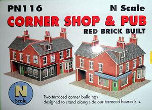 New Metcalfe Corner Shop & Pub PN116 N Gauge
